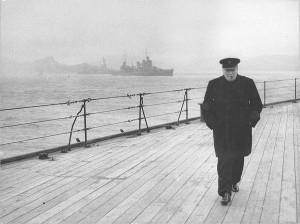 The Prime Minister's return journey across the Atlantic