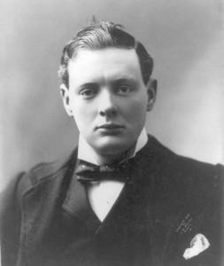 Portrait of Winston Churchill, 1900