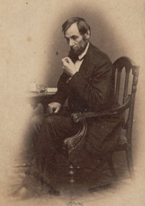 Abraham Lincoln, Photograph, ca 1861